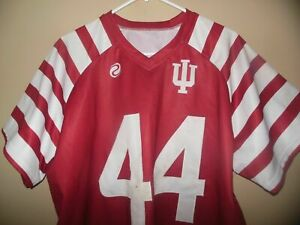 INDIANA HOOSIERS GAME USED  FOOTBALL JERSEY