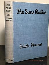 BINDING ERROR - THE SUN'S BABIES by Edith Howes, 1st / 1st 1926 FAIRIES
