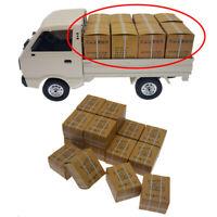 16pcs WPL Carton Box Accessories for D12 B16 B36 B24 MN77 MN90 MN99 RC Car DIY
