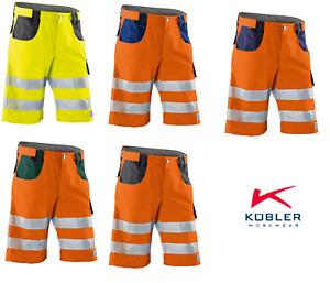 Arbeitsshorts kurze Warnschutzhose KÜBLER REFLECTIQ Shorts PSA 2 Größen: 44-64