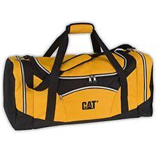 Caterpillar CAT Equipment Black & Yellow Duffel/Travel Bag