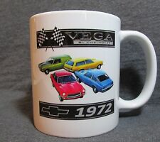 1972 Chevrolet Vega Line Coffee Cup, Mug - New - Classic 70's - Sharp