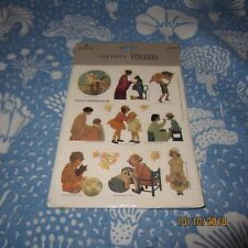 New Pack of Vintage Jessie Willcox Smith Hallmark 1992 Four Sheets Of Stickers