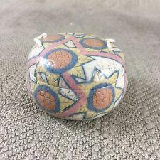RARO PORCELANA CAJA JOYERO Estudio cerámica hecho a Mano British Art FIRMADO