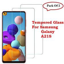 Nuevo Protección Protector de pantalla para Samsung Galaxy A21S Vidrio Templado Paquete de 2