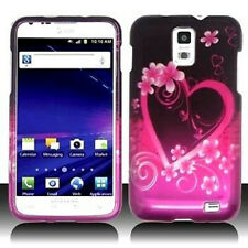 For AT&T Samsung Skyrocket Galaxy S II 2 HARD Case Snap Phone Cover Purple Love