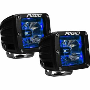 Rigid Industries 20201 Radiance Spot Light Pod With Blue Backlight - Pair
