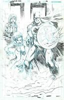 JLA 3 Pg 20 Diogenes Neves Original Art Justice League of America Page