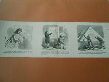 Caricature 1869  - Louer les pyramides à un fermie d'annonces