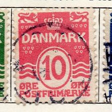 Denmark 1912 Early Issue Fine Used 10ore. 138135