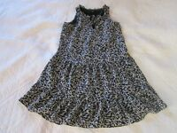 Sanctuary Womens Dress Size XS Black/White Floral Tiered
