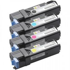 Dell 1320 1320C High Yield Toner Cartridge 4 Color Set, Blk, C M Y