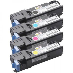 Dell 1320 1320C High Yield Toner Cartridge 4 Color Set, Blk, C M Y