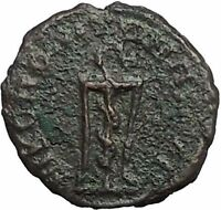 SEPTIMIUS SEVERUS 193AD Nicopolis ad Istrum SERPENT TRIPOD Roman Coin i54780