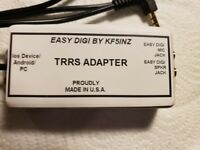 """EASY DIGI™"" Digital Sound Card Interface TRRS Adaoter"