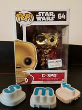 c3po funko pop b&n exclusive force awakens barnes and noble