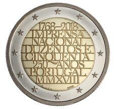 2 Euro Portugal 2018 - INCM -  UNC (vorverkauf)