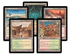 20 Card Uncommon Dual Land Lot - Tempest - SP  4x of each - Sets - Magic MTG FTG