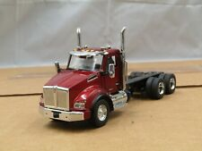 Diecast Master Kenworth T880 3 axle truck ruby red 1/50 for custom projects