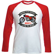 BSA Rocket 3-NUOVO Amazing Graphic T-Shirt S-M-L-XL - XXL