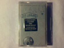 DEF LEPPARD Vault - Greatest hits 1980 / 1995 mc cassette k7 SIGILLATA SEALED!!!