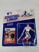 1988 Starting Lineup SLU Baseball Figure Wally Joyner California Angels