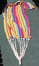 Handmade Knit Hammock with Attached Tote Bag hippie phish relax leisure