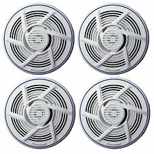"""4 X New Pioneer 6.5"""" Inch Marine Boat Yacht Outdoor Stereo Speaker White Color"""