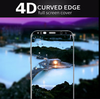 Full 4D Tempered Glass Screen Protector For Samsung Galaxy S8 S9 Plus S7E Bundle