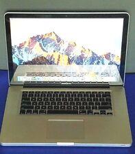 "MacBook Pro 15.4"" Mid 2012 A1286 8GB Intel HD Graphics 4000 1TB 2.6 GHz Core i7"