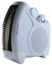 1000W / 2000W Silent Compact Electric Portable Fan Heater Hot/Warm/Cool Blow