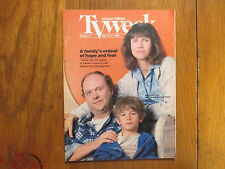 May 21,  1989 Chicago Tribune TV Week (CINDY  PICKETT/JOHN  ASHTON/LUKE EDWARDS