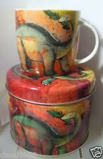"Queen Alex Clark ""Diplodocus - Mug In Tin"" Bone China Alck9871 Gift Tin"