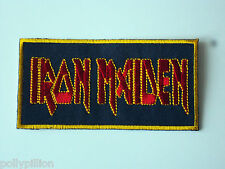 Iron Maiden Sew or Iron On Patch