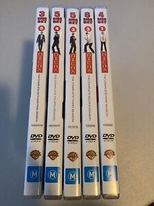 Chuck Seasons 1 - 5, 23 Discs Total - Free Postage