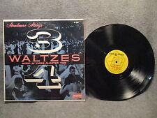 """33 RPM 12"""" Record Stradivari Strings Waltzes in 3/4 Time Spin O Rama MK 3098 VG+"""