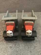 Thomas & Friends Wooden Railway Tank Engine Train Max & Monty Dump Trucks