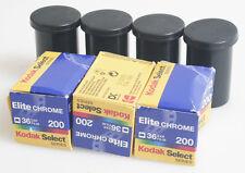 KODAK EKTACHROME/ELITE CHROME 35MM COLOR SLIDE FILM 200 ASA/ISO PACK OF 7 EXPIRE