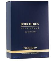 100ml Boucheron pour Homme Eau de toilette Perfume hombre 3.3 oz