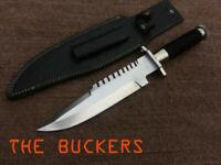 COMMANDO Custom Stunning hamade D2 Tool Steel KNIFE,BOWIE,TACTICAL,REPLICA