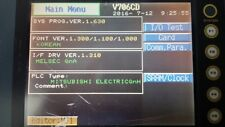 HAKKO V706CD TOUCH LCD SCREEN GRAPHIC PANEL HMI TESTED WORKING