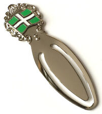 County Devon Flag Enamel Crested Bookmark & Gift Bag (T960)
