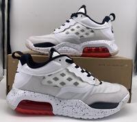 Nike Air Jordan Retro Air Max 200 Mens Size White Red Grey CD6105-100