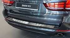 BMW X5 F15 2013, 2014 and 2015 Stainless Steel Rear Bumper Protector