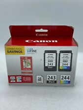 CanonFine Combo Pack with Black and Color Ink Cartridges and Glossy Paper