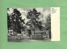 LAUREL GROVE CEMETERY In PORT JERVIS, NY On Vintage 100-Year Old Unused Postcard