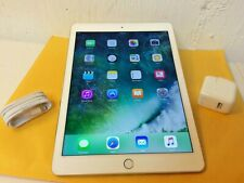 Apple iPad Air 2 16GB Wi-Fi & Cellular 9.7 White Gold iOS 11 12 13 MH2W2LL/A 4G