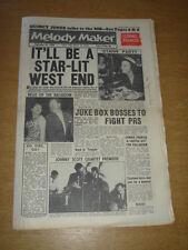MELODY MAKER 1960 SEPTEMBER 24 KAY STARR JUKE BOX JURY JOHNNY SCOTT SATCHMO +