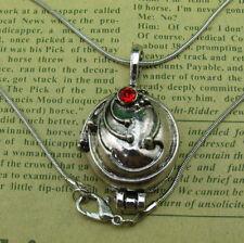 The vampire diaries elena verveine argent antique médaillon vintage collier