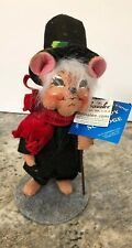 Annalee Christmas Carol Dickens Series, 8� Unhappy Scrooge Storybook Mice Mouse